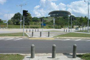Picc Putrajaya concrete bollard